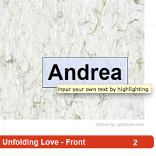 Unfolding Love 1